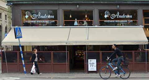 vegetarisches Restaurant Andrum